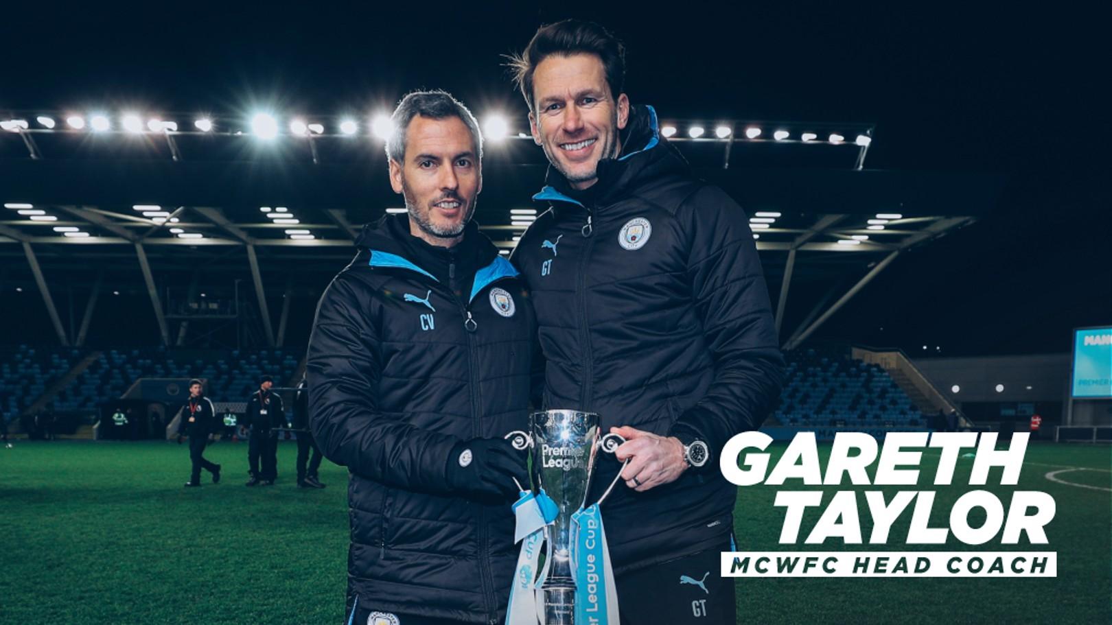 Gareth Taylor novo treinador principal do Manchester City