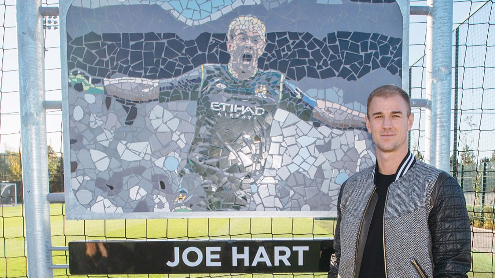 HART ATTACK: The Club has honoured Joe with a pitch dedication