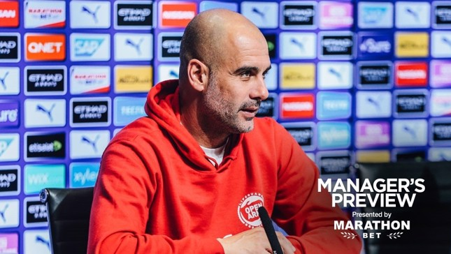 FINAL FOCUS: City manager Pep Guardiola
