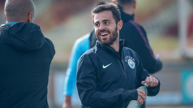 WORTH HIS WEIGHT IN SILVA : Bernardo Silva had an impactful cameo from the bench