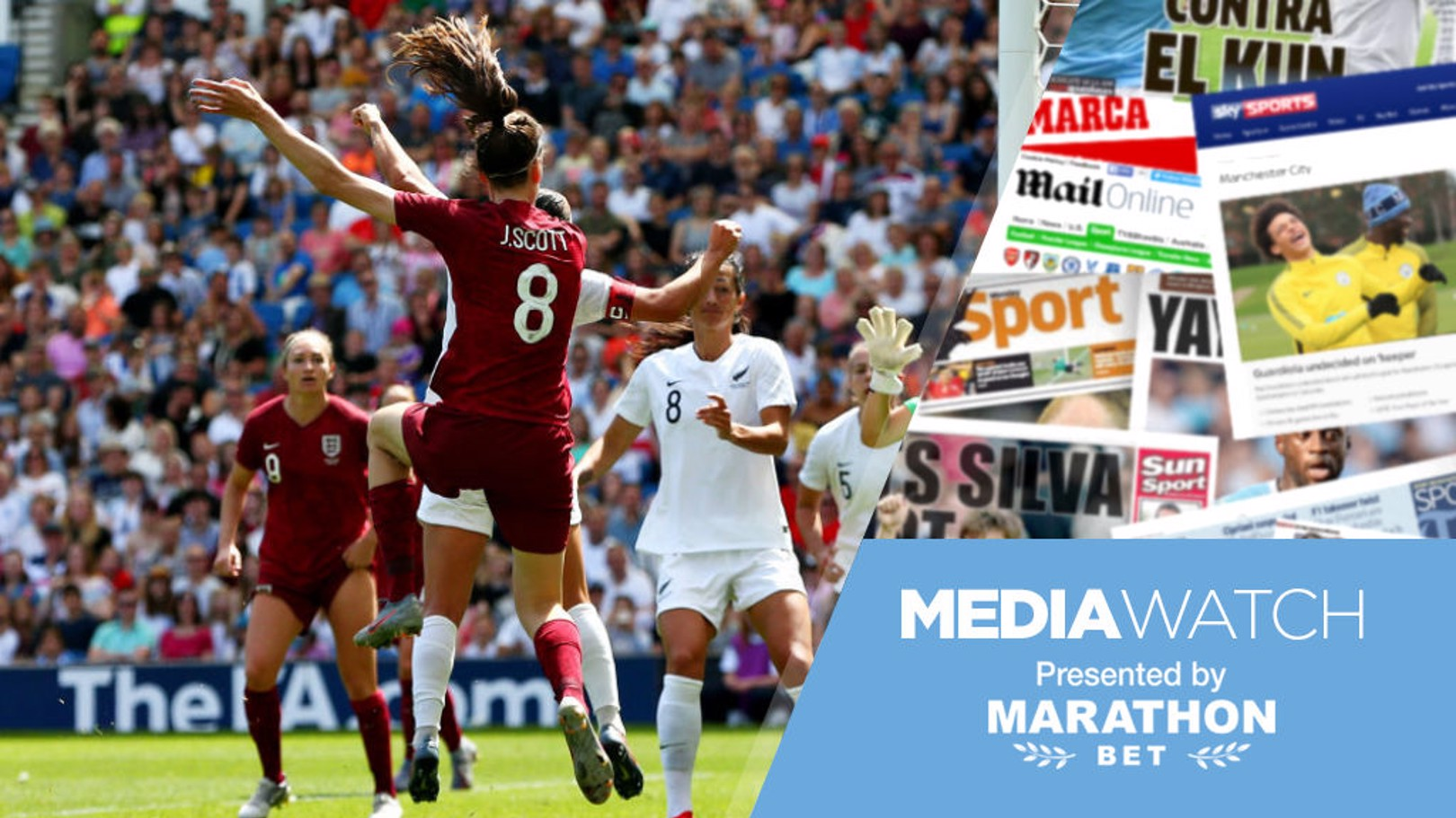 MEDIA WATCH: England and Scotland go head-to-head at the FIFA Women's World Cup later today