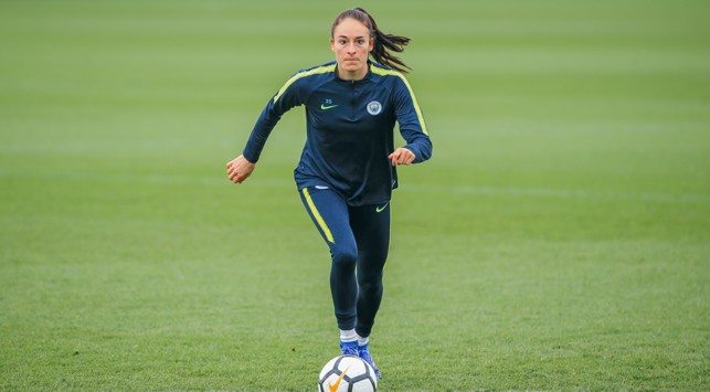ON THE FRONT FOOT : Tessa Wullaert goes through her paces