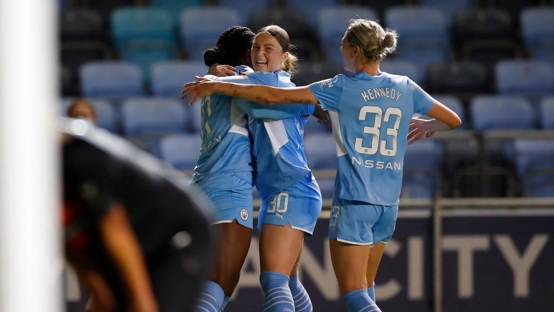 Mace: City debut an 'incredible' feeling