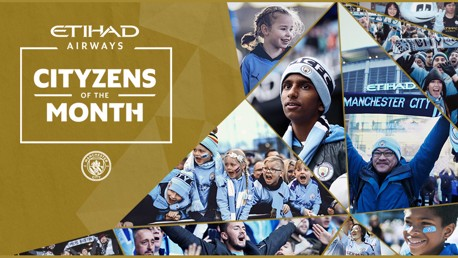 Celebrating our Etihad Cityzens of the Month