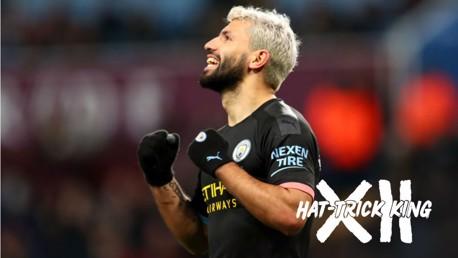 Legends salute record-breaking Aguero