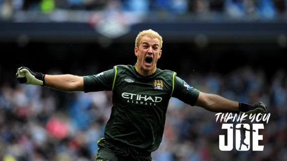 THANK YOU, JOE: A pictorial look back on Joe Hart's City career
