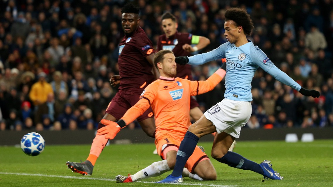 SANE SUBLIME: Excellent composure from Sane to turn the game on its head!