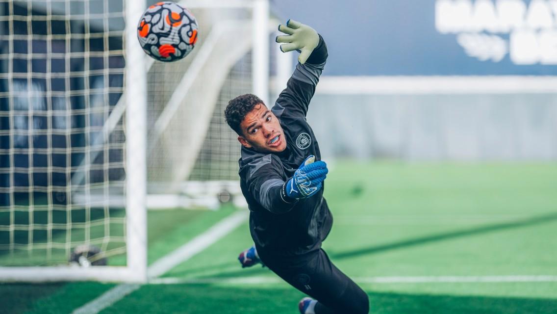 Training: City tune up ahead of Saints clash