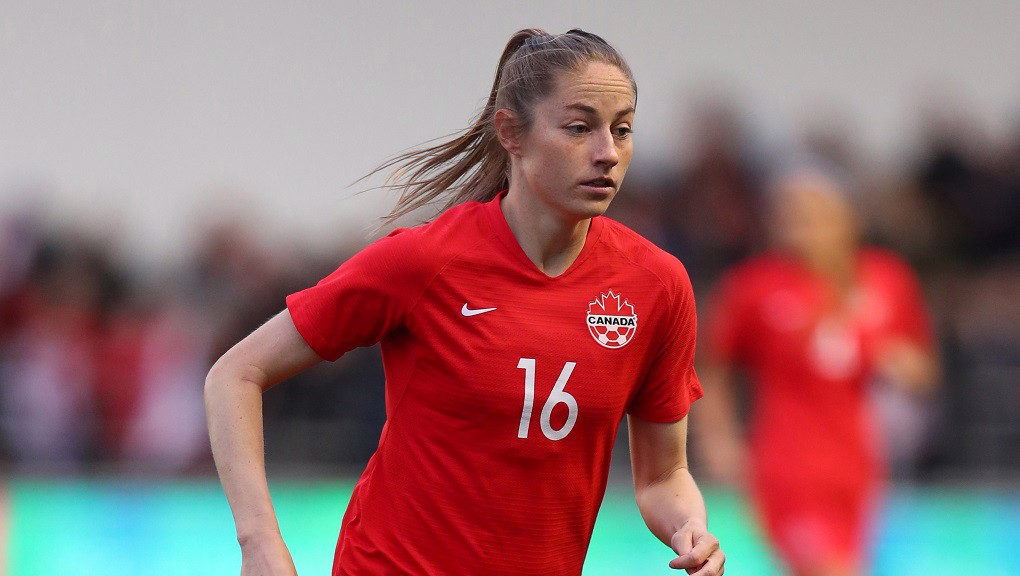 JANINE BECKIE : City's Canadian striker