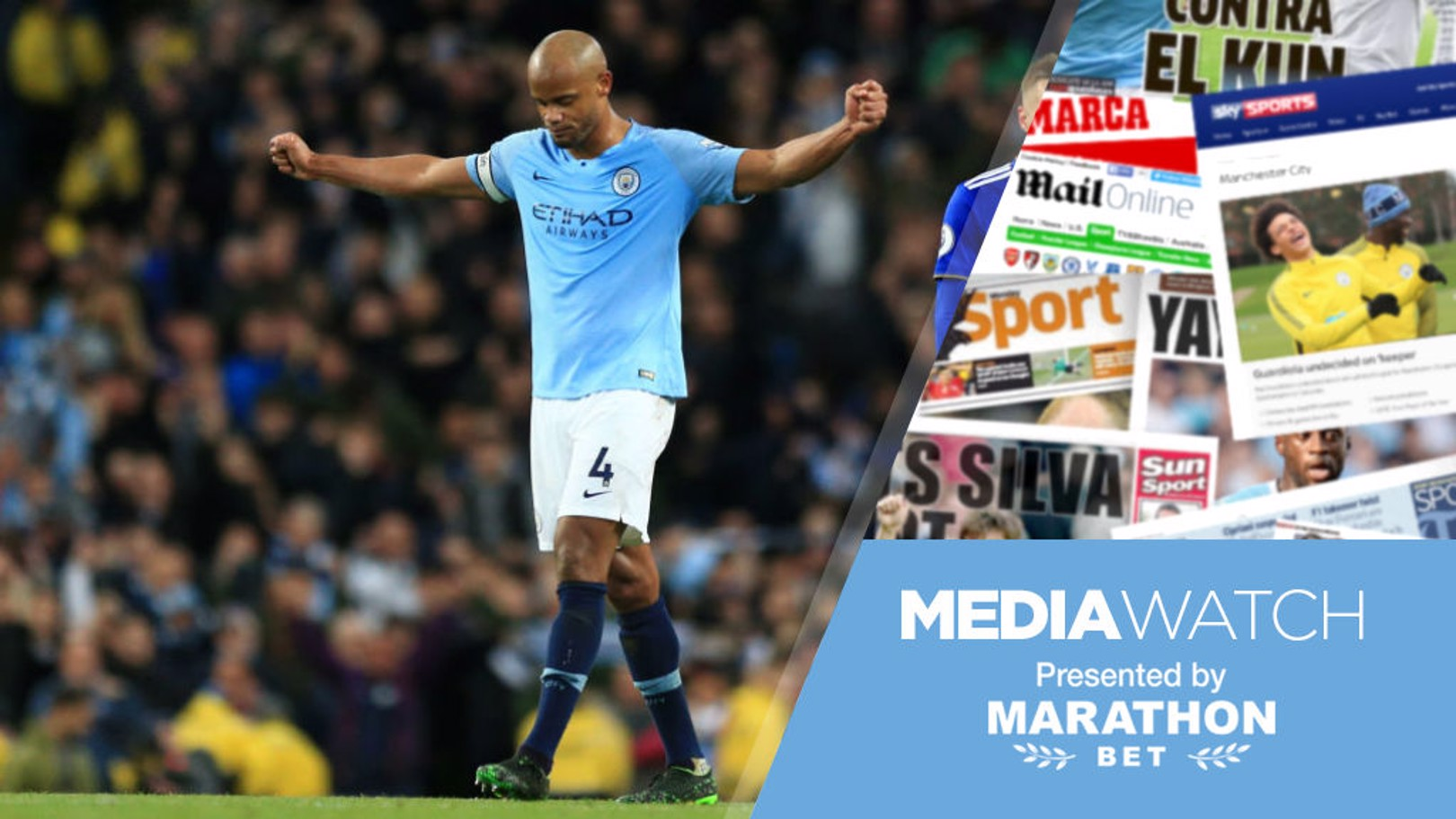 MEDIA WATCH: The press are full of praise for Vincent Kompany this morning!