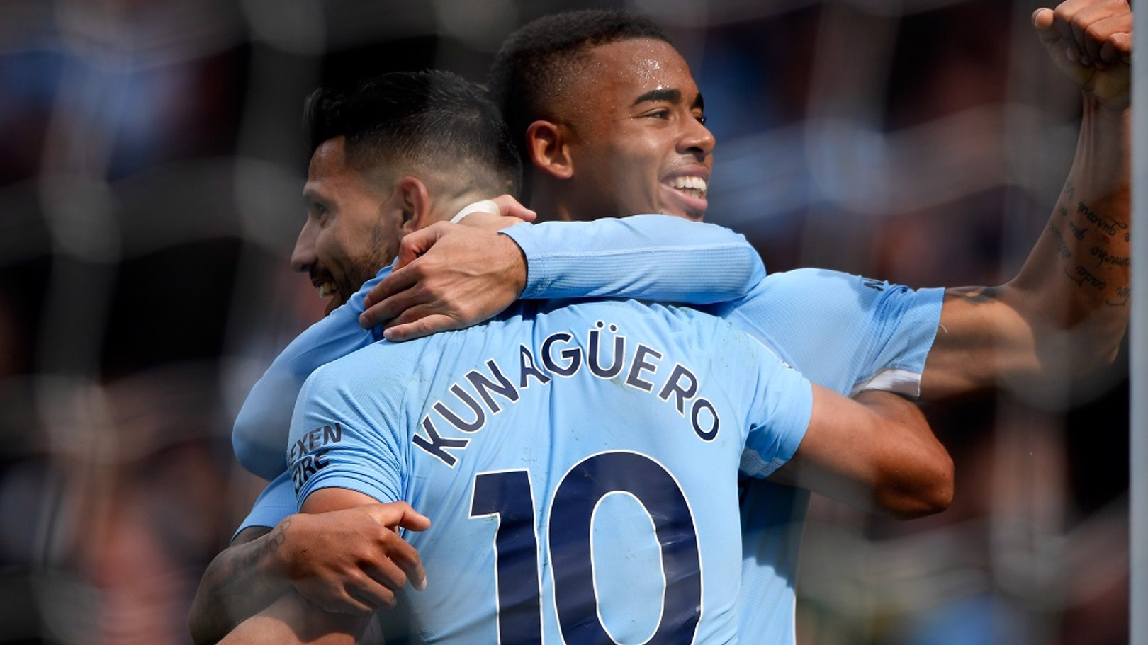 Aguero and  Jesus nominated for PFA monthly award