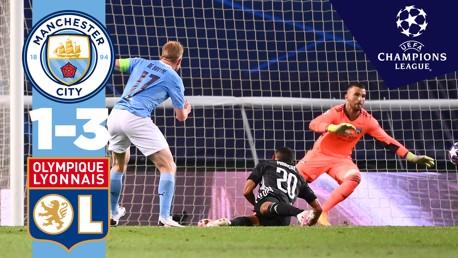 City 1-3 Lyon: resumen