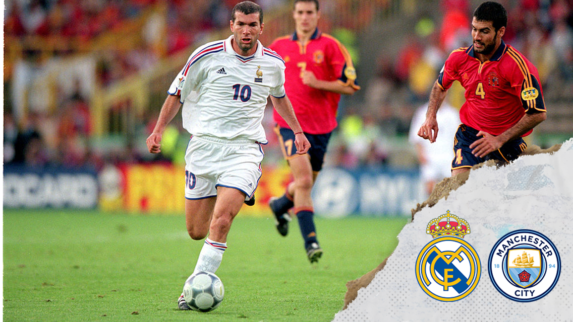 Guardiola v Zidane: Great players who became great managers