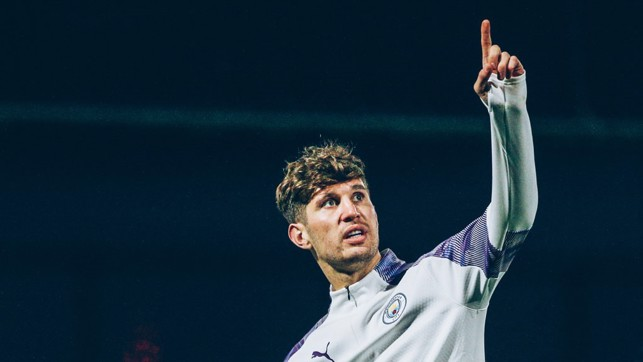 ONLY WAY IS UP : John Stones points the way forward