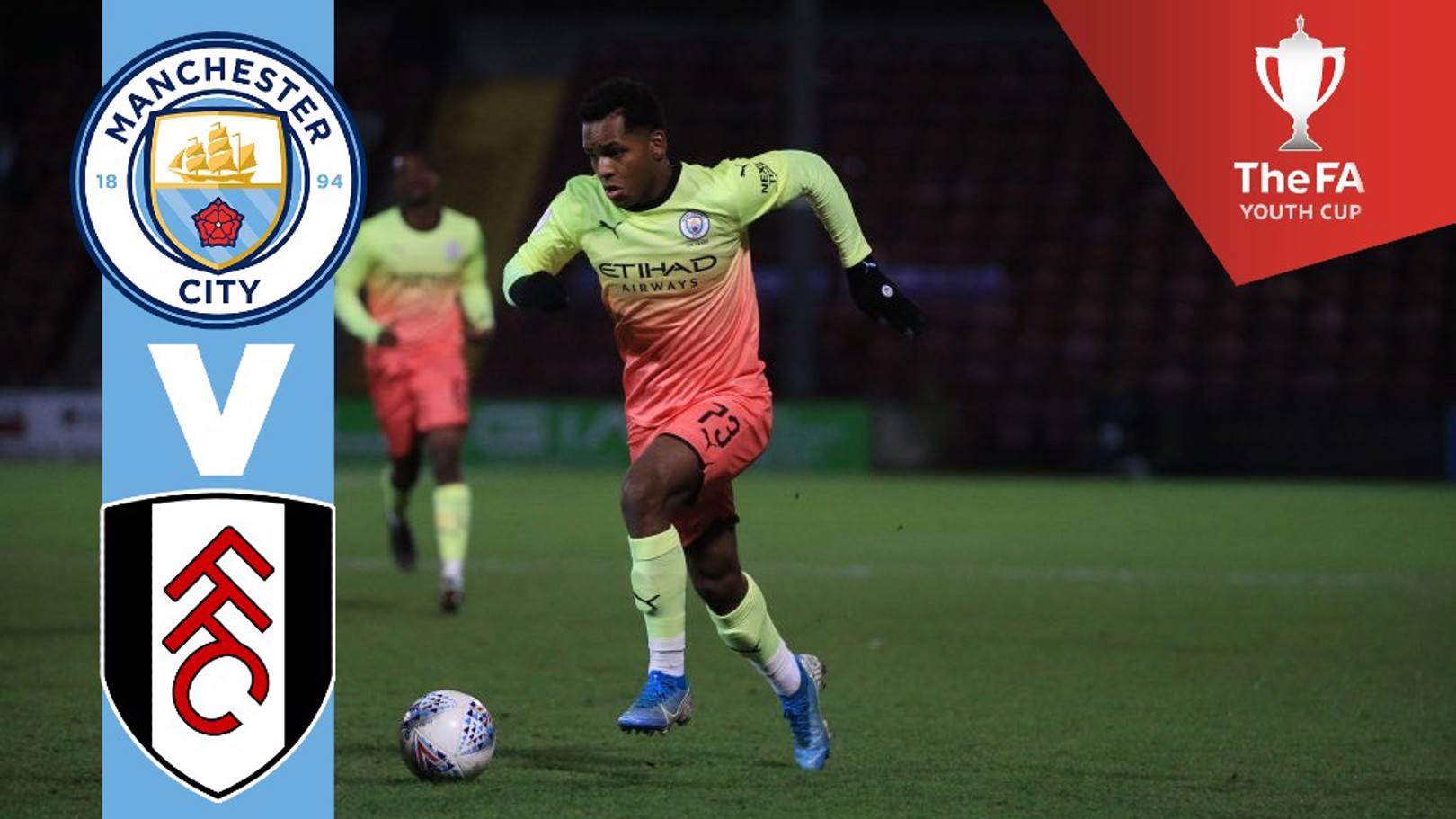 LIVE | Watch City U18s FA Youth Cup fifth round tie against Fulham on City+.