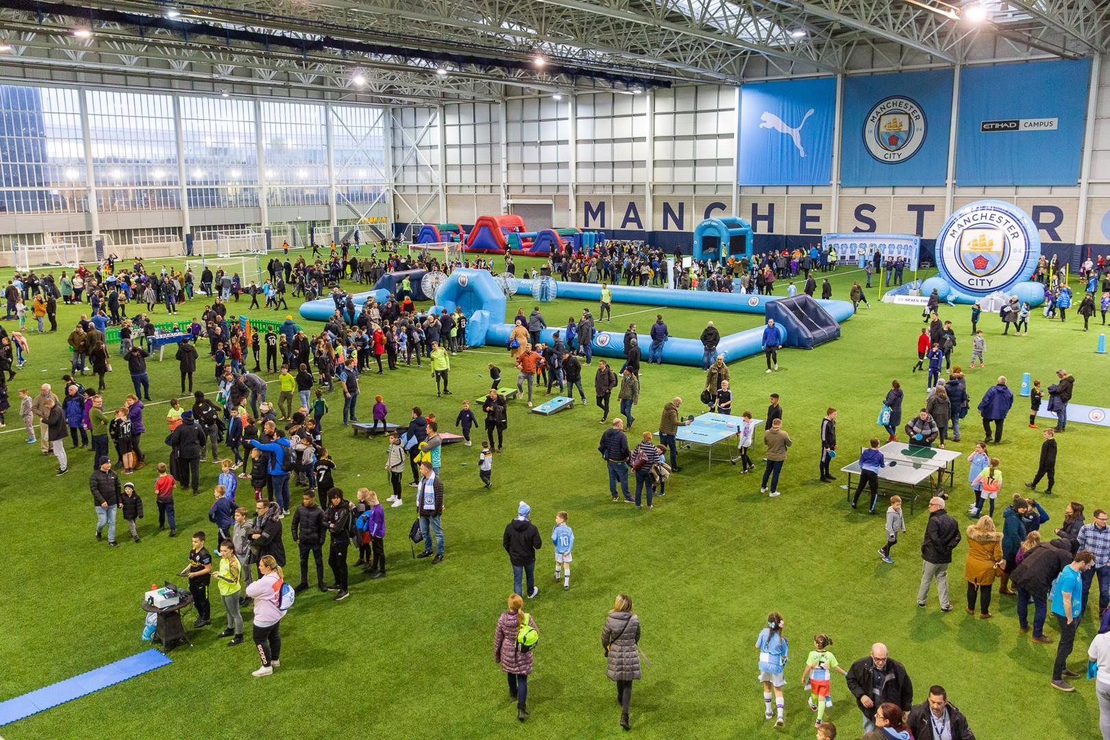 Man City Kids Fanzone returns for Burnley clash