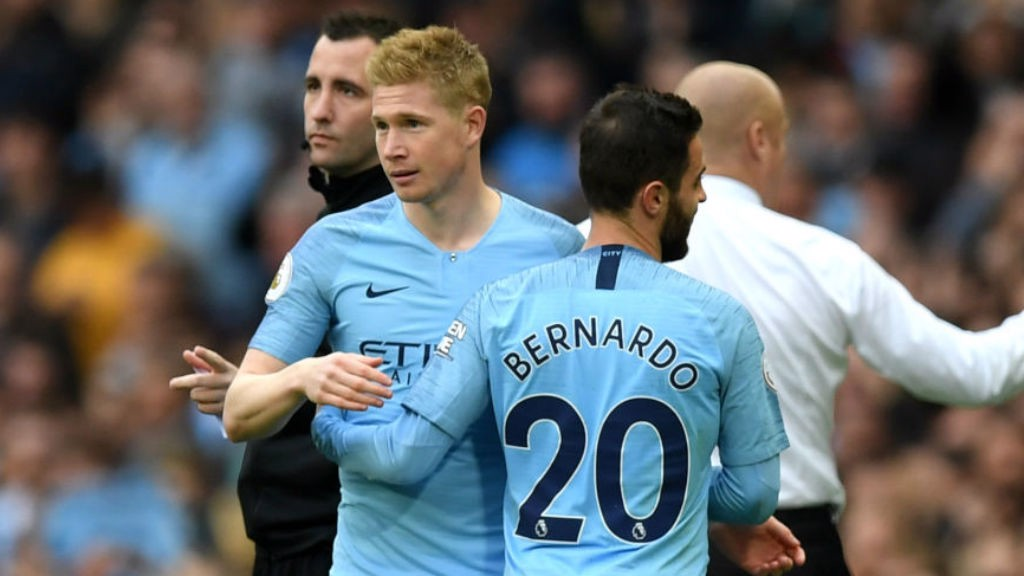 Trio do City nomeado à Equipe do Ano da UEFA