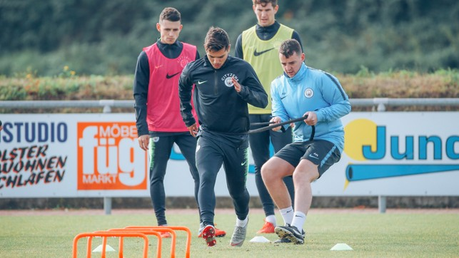 ONE-MAN BAND : Strength and conditioning for Brahim Diaz