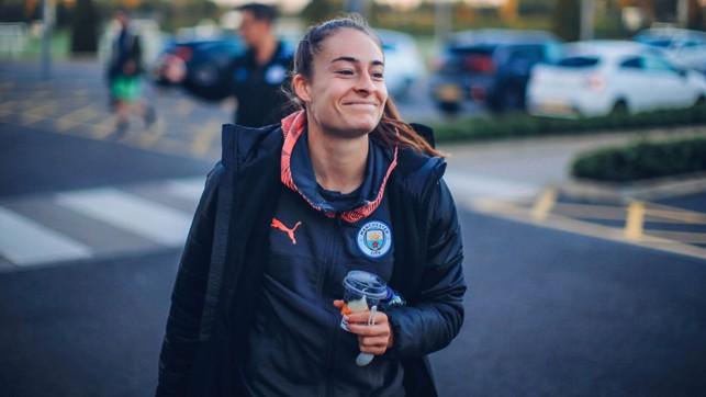 TESS SHOT : Tessa Wullaert smiles for the camera