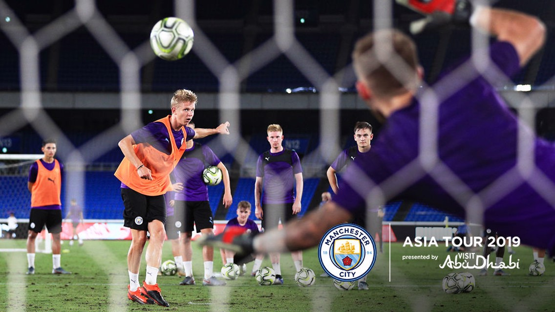 City gear up for Asia Tour finale