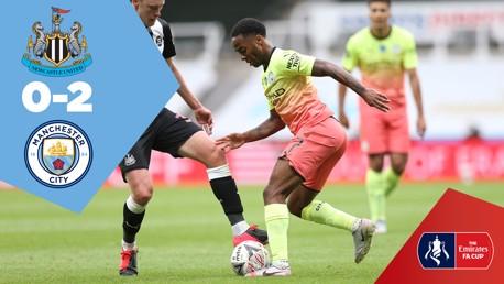 Full-match replay: Newcastle 0-2 City