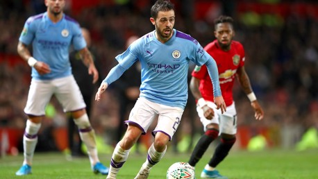 STAR MAN: Bernardo was superb throughout