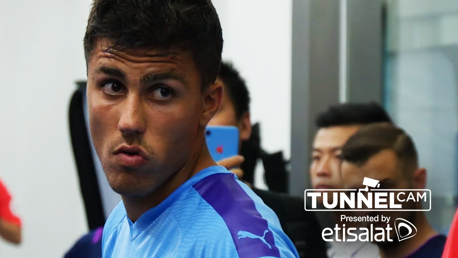 TUNNEL CAM: Behind-the-scenes against West Ham.