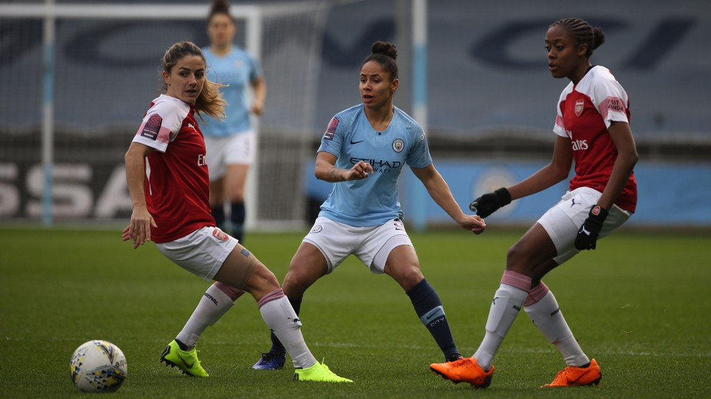 Stanway brace downs Gunners as City push on in WSL