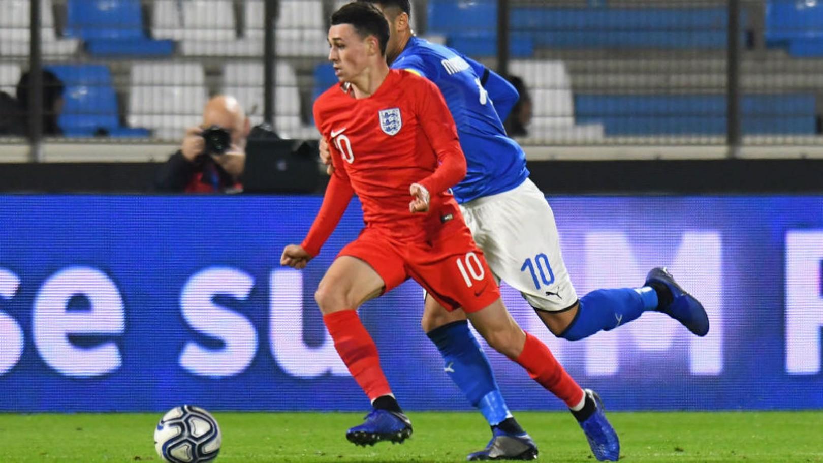 Foden masuk skuat U21 Inggris untuk Piala Eropa