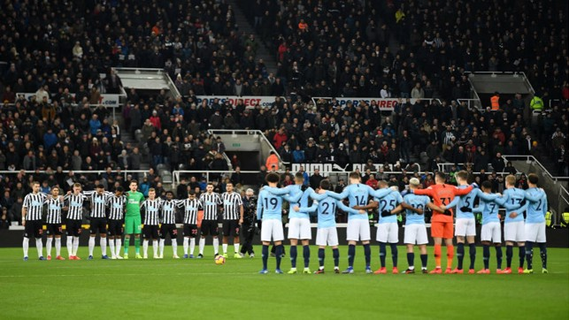 MORE THAN A GAME : A minute's silence is observed in honour of Cardiff striker, Emiliano Sala