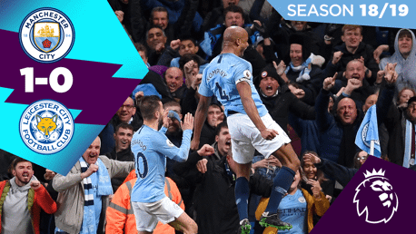 City 1-0 Leicester : Full match replay 2018/19