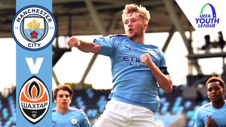 City 5-0 Shakhtar: Full match replay