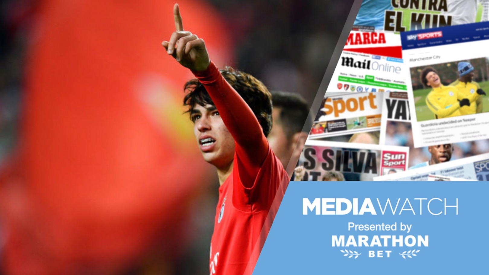 RUMOUR MILL: Joao Felix continues to be linked with a move to City.
