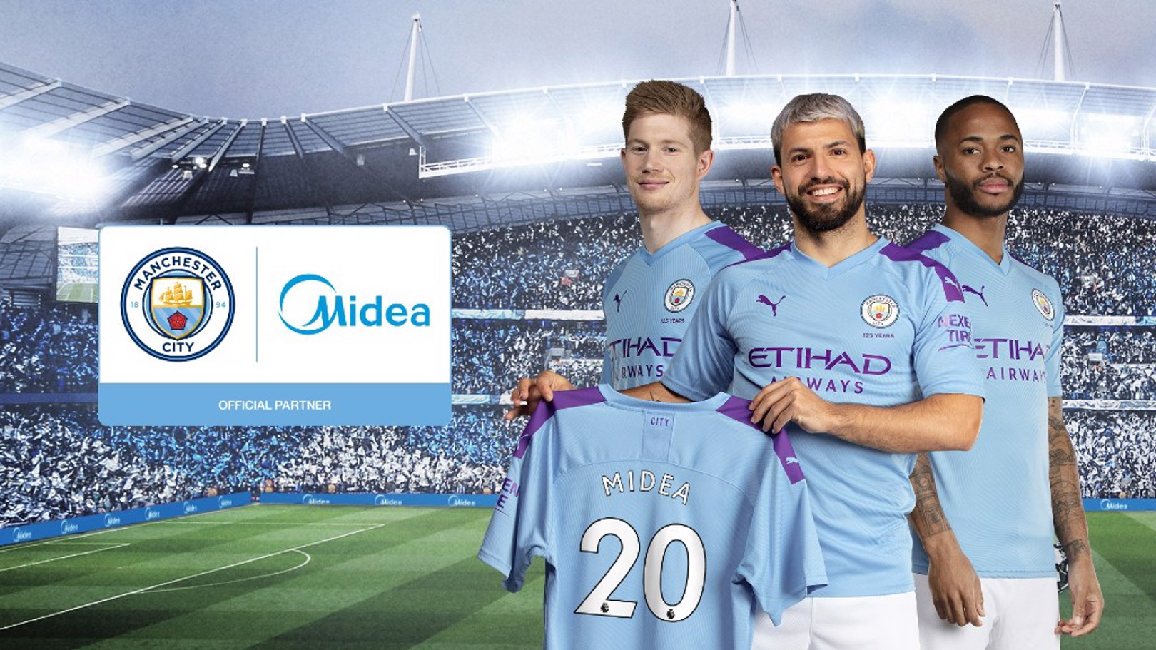 PARTNERSHIP: City have agreed a deal with the world's number one consumer appliances producer, Midea.