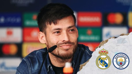 REAL DEAL: David Silva says City are looking forward to the challenge of taking on Real Madrid