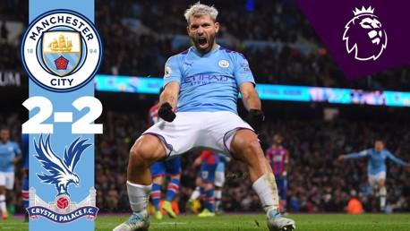 City 2-2 Crystal Palace: Full match replay