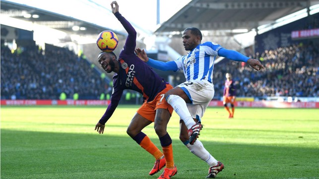 PAIN GAME : Raheem Sterling feels the effect of this Jason Puncheon challenge