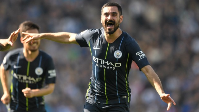 GERMAN EFFICIENCY : Ilkay Gundogan added the icing to the proverbial cake with a sensational free-kick