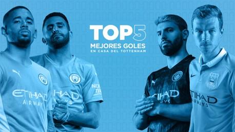 Top 5: goles en casa del Tottenham