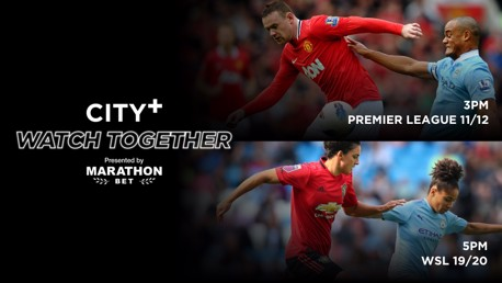 City+ Watch Together: Derby Double header!