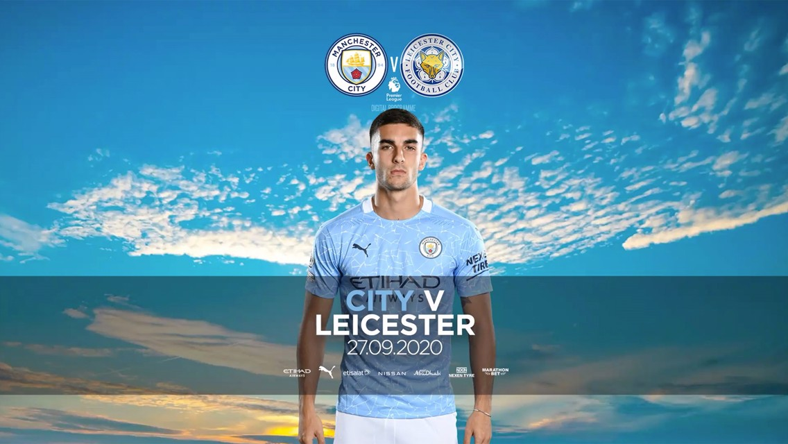 Manchester City v Leicester City: FREE match programme