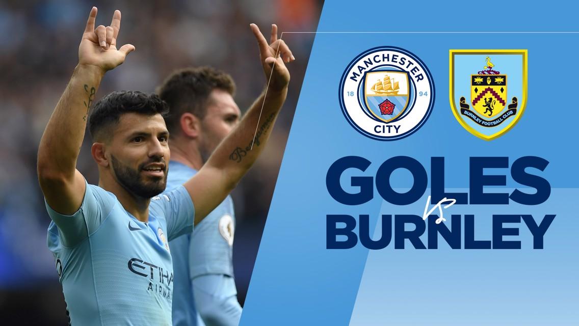 Goles al Burnley