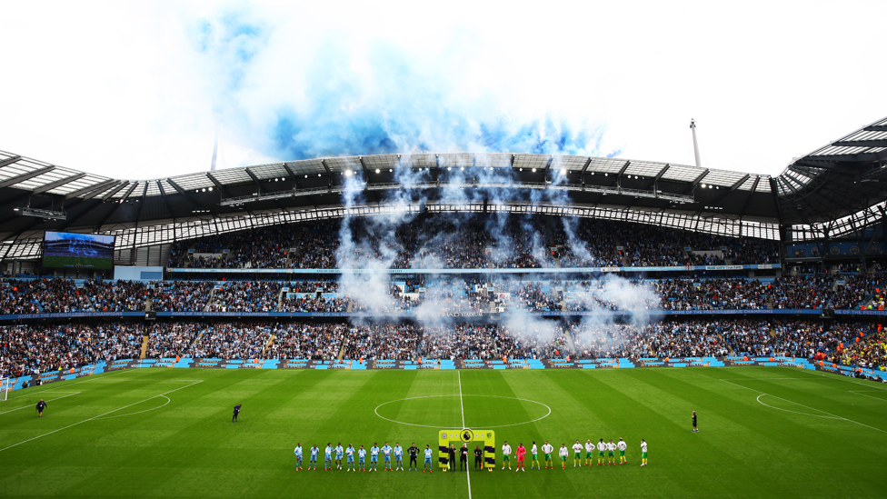 WELCOME HOME : After a long 18 months, it is amazing to see the Etihad full again!