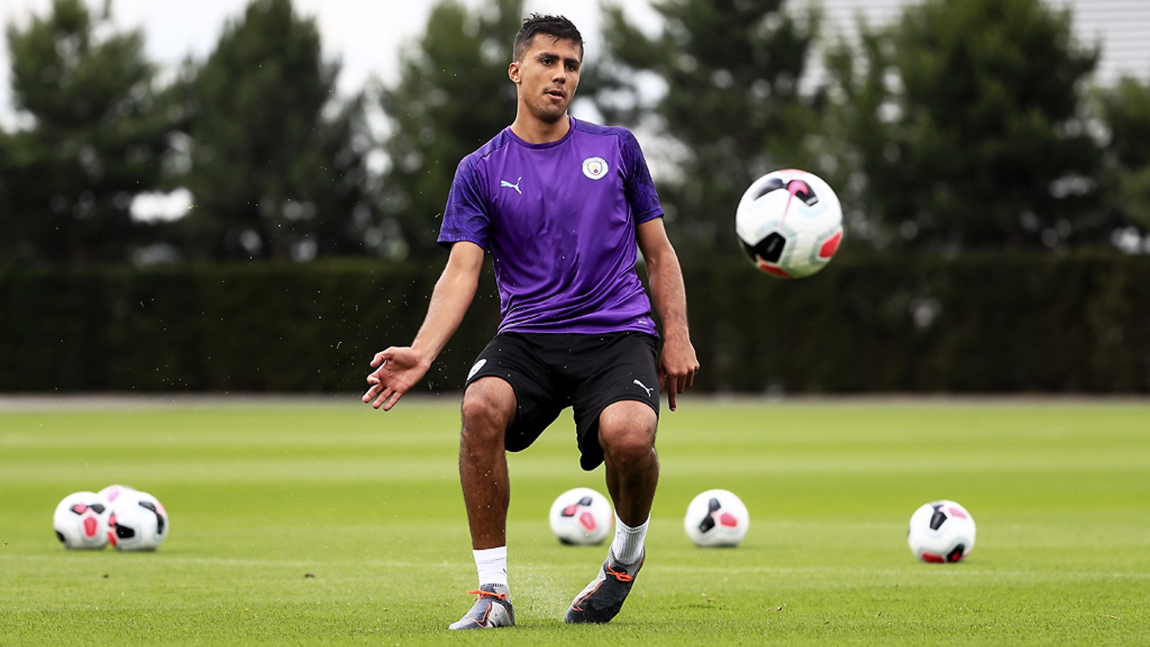 SETTLING IN: Rodri getting used to life at the CFA