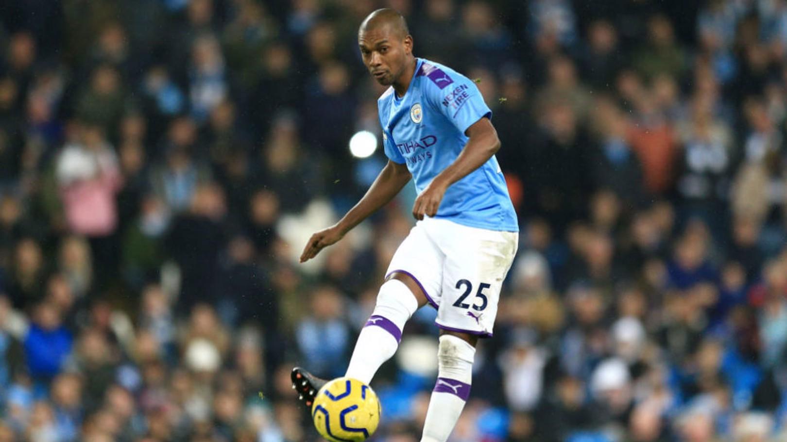 Fernandinho outlines his tactical journey