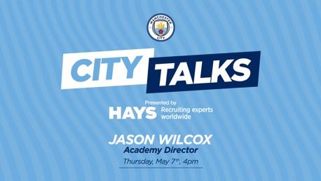 City TALKS: Jason Wilcox, Academy Director