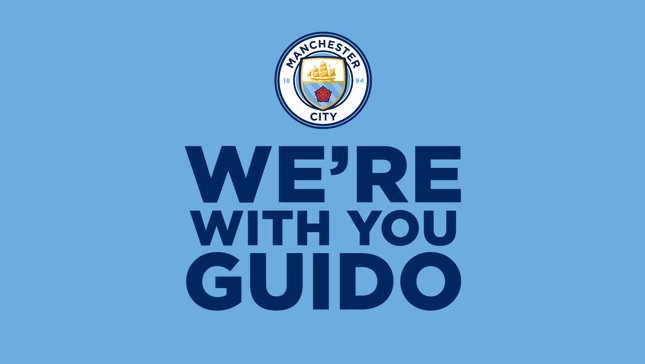 Manchester City players send messages of support to Guido De Pauw