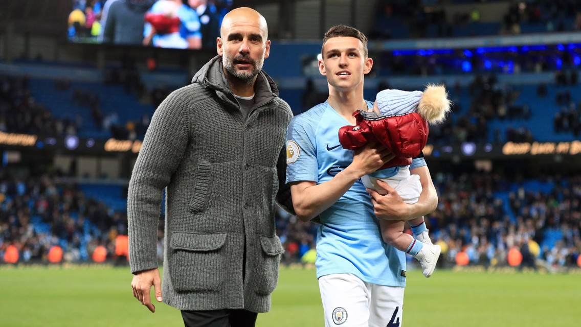 Phil Foden: Fishing and fatherhood