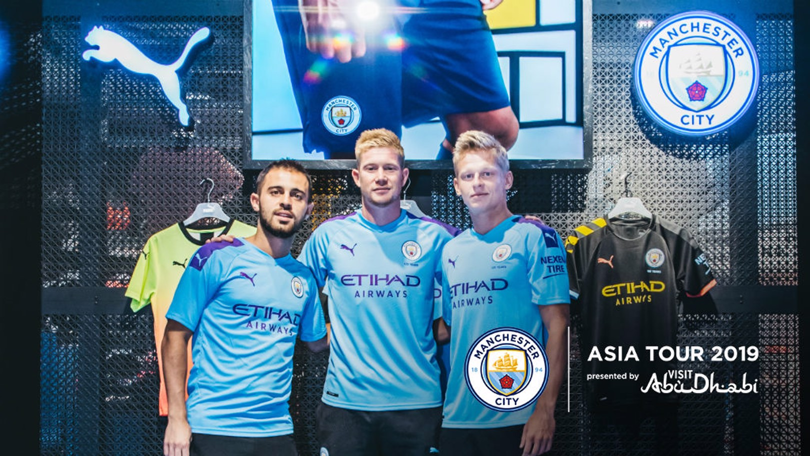 FAN REACTION: Bernardo Silva and Kevin De Bruyne have spoken about their delight about the reaction from fans in China