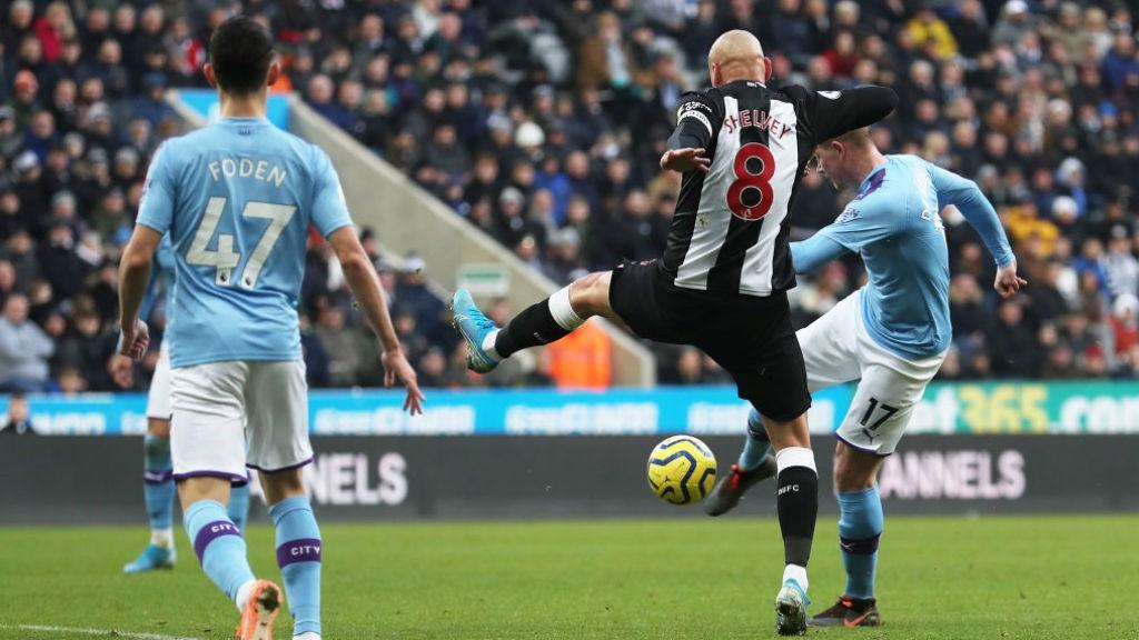 City concède le nul à Newcastle.